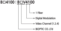 Digital Modulation Video Channel (1,2,4) BiOPTIC Co.,LTd